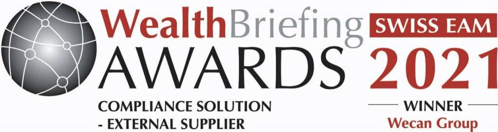 Logo WealthBriefing Awards 2021